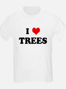 I Love TREES Kids T-Shirt