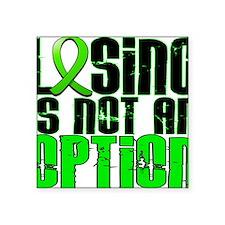 "D Non-Hodgkins Lymphoma Los Square Sticker 3"" x 3"""