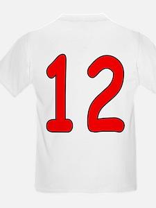 Age 12 Frog Birthday Kids T-Shirt