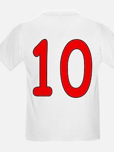 Age 10 Frog Birthday Kids T-Shirt