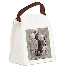Vintage Ad Canvas Lunch Bag