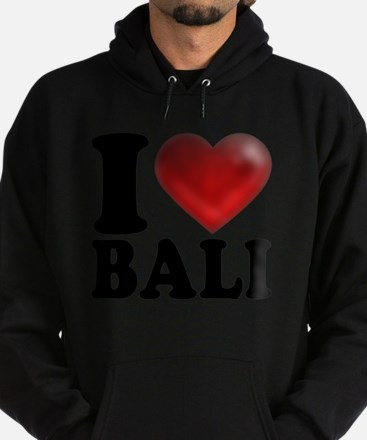 I Heart Bali Light Hoodie (dark)