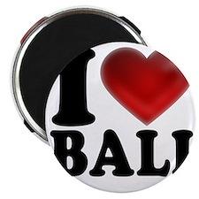 I Heart Bali Light Magnet