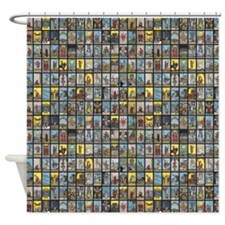 Tarot Shower Curtain