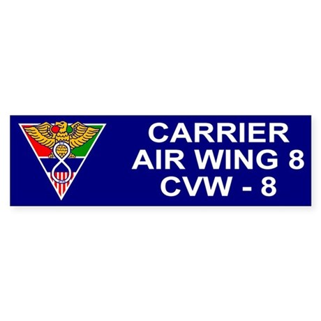 Carrier Air Wing 8<BR>Bumper Sticker