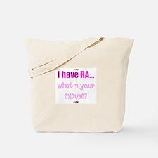Rheumatoid Arthritis Tote Bag