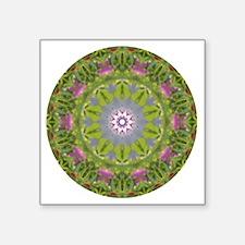"Pemaquid Light Necklace Square Sticker 3"" x 3"""