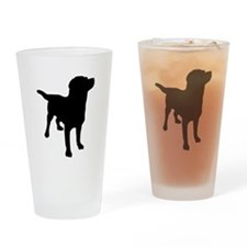Labrador Retriever Drinking Glass