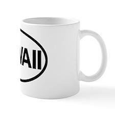 HawaiiOvalSticker Mug