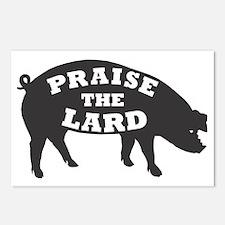 praise lard6 150trans1 Postcards (Package of 8)