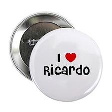 """I * Ricardo 2.25"""" Button (10 pack)"""
