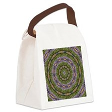 West Quoddy Light Wild Flowers Ea Canvas Lunch Bag