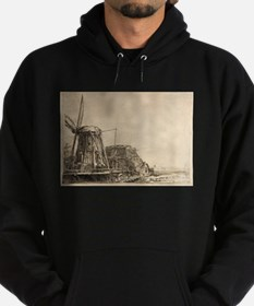 The Windmill - Rembrandt - c1641 Sweatshirt