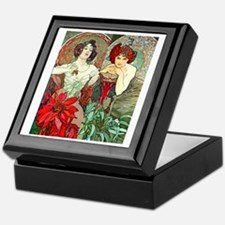 FF Mucha Jewels2 Keepsake Box