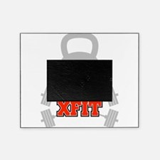 crossfit cross fit skull kettlebell dark Picture Frame