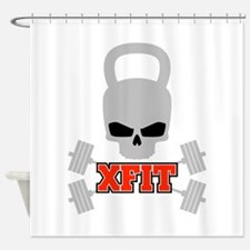 crossfit cross fit skull kettlebell dark Shower Cu