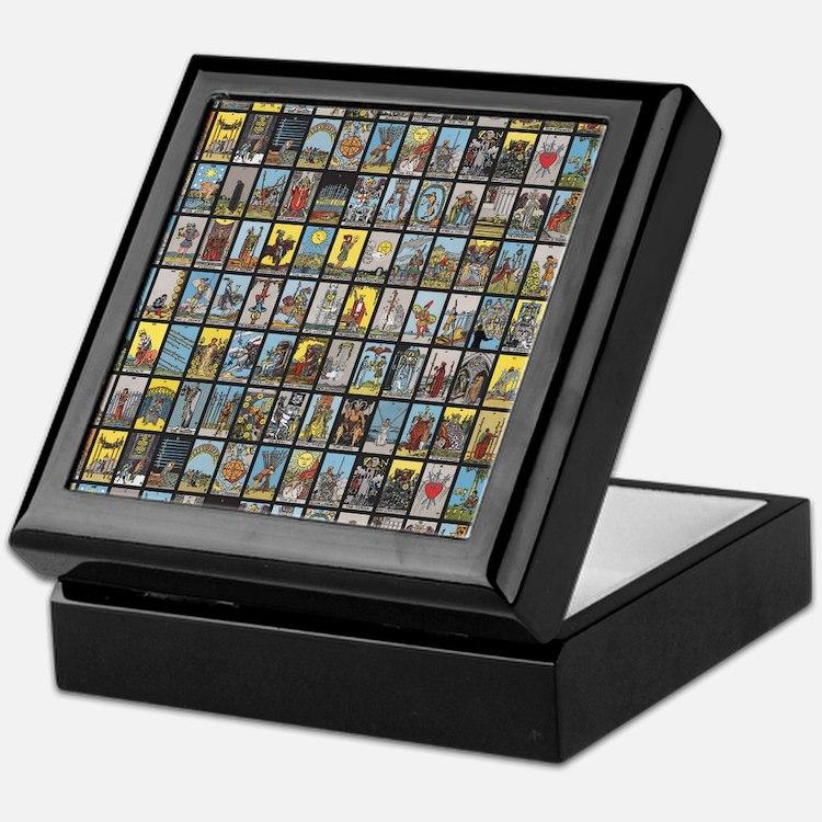 Tarot Keepsake Box