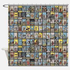 Tarot Shower Curtain
