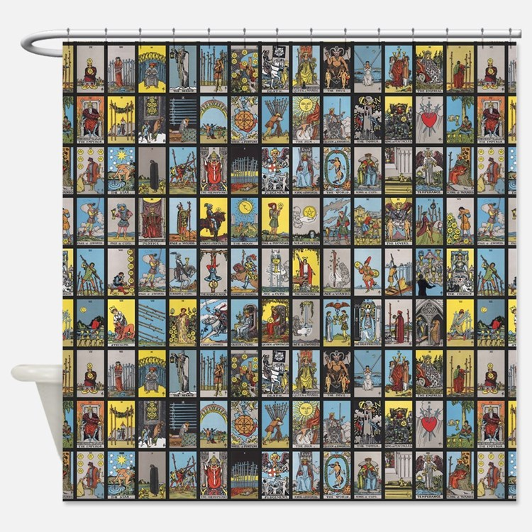 Astrology shower curtains astrology fabric shower for Astrology fabric