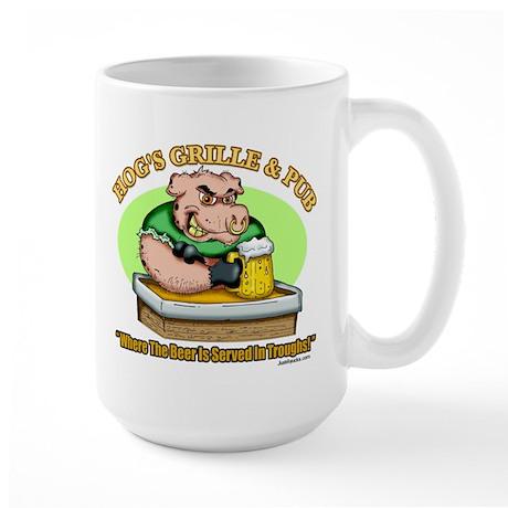 Hogs Grille & Pub Large Mug
