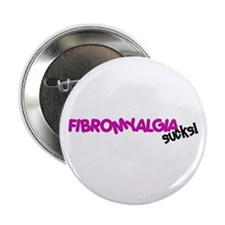 "Fibromyalgia 2.25"" Button (10 pack)"