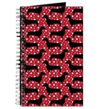 Red Polka Doxies Journal