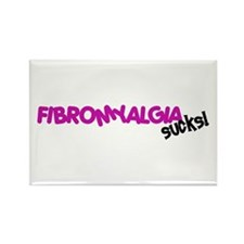 Fibromyalgia Rectangle Magnet