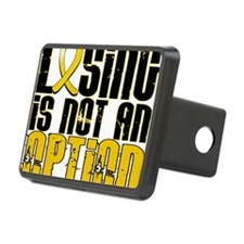 D Childhood Cancer Losing  Hitch Cover