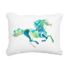 horse2 Rectangular Canvas Pillow