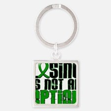 D Cerebral Palsy Losing Is Not An  Square Keychain
