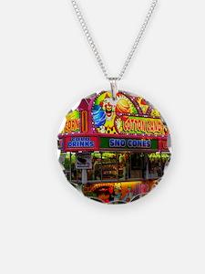 clown cotton candy Necklace