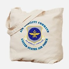AirMobilityCommandwText Tote Bag