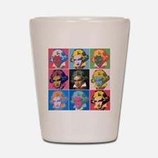 Variations on a Theme of Beethoven Shot Glass