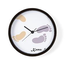 feet_10x10 5 Wall Clock