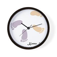 feet_10x10 4 Wall Clock