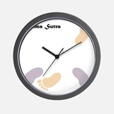feet_10x10 6 Wall Clock