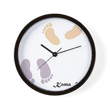 feet_10x10 8 Wall Clock