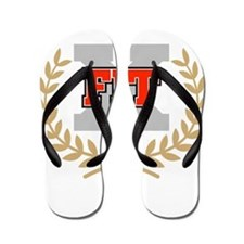 crossfit cross fit champion dark Flip Flops