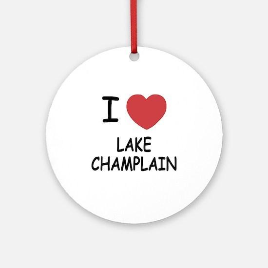 LAKE_CHAMPLAIN Round Ornament