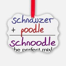 schnoodle Picture Ornament