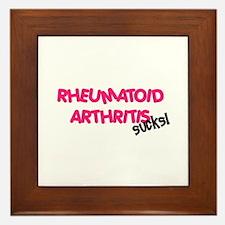 Rheumatoid Arthritis Framed Tile