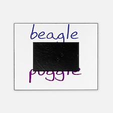 puggle_black Picture Frame