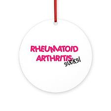Rheumatoid Arthritis Ornament (Round)
