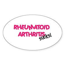Rheumatoid Arthritis Oval Decal