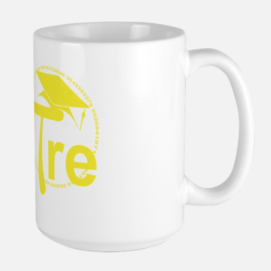 Aspire Yellow Large Mug