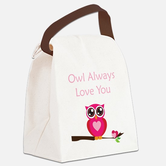OWL3 Canvas Lunch Bag
