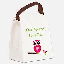 OWL4 Canvas Lunch Bag