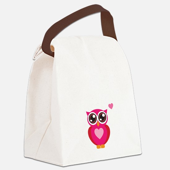 OWL6 Canvas Lunch Bag