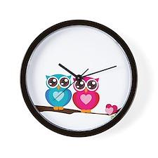 owl8 Wall Clock