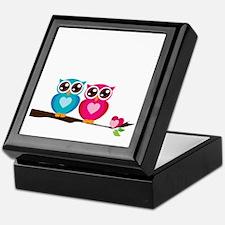 owl8 Keepsake Box